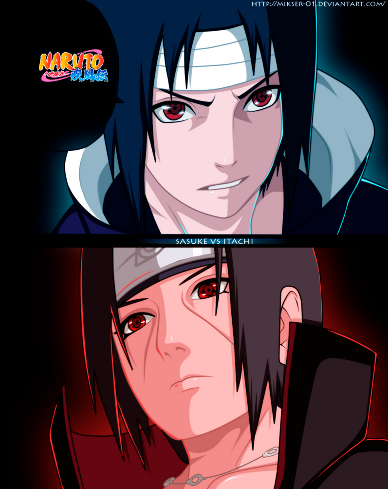 Sasuke vs Itachi by GoLD-MK on DeviantArt