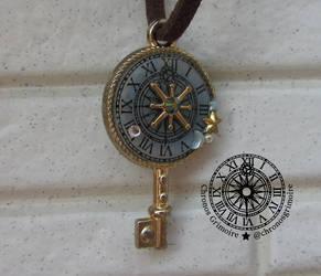 Broken Clock Pendant