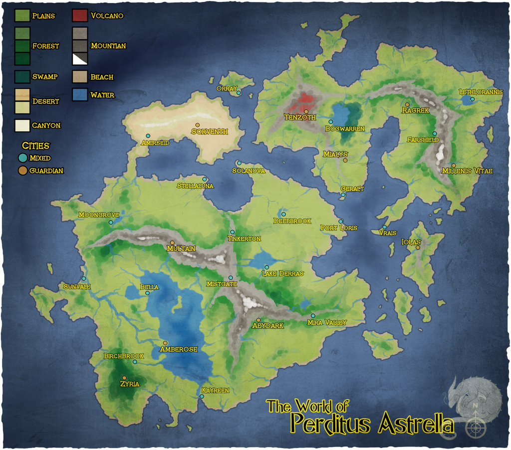 Perditus astrella world map by hawkein on deviantart world map by hawkein gumiabroncs Gallery
