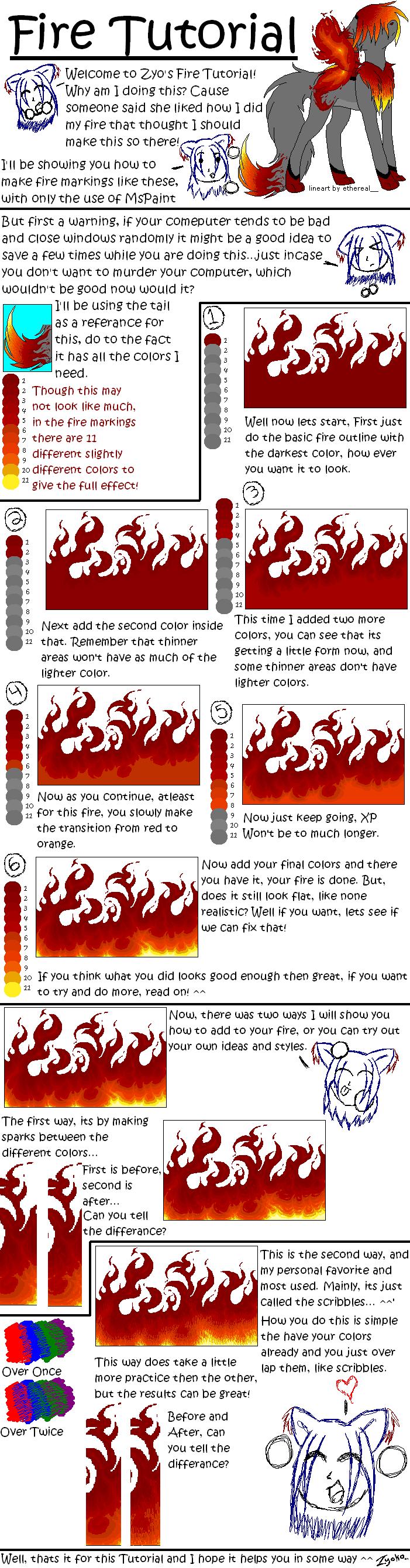 MsPaint Fire Tutorial by Hawkein on DeviantArt
