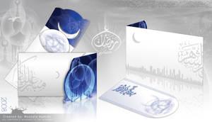 Ramadan Greeting Card by illuphotomax