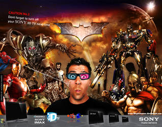 Sony 3D TV Concept 02 by illuphotomax