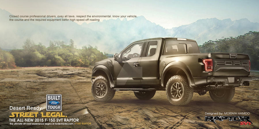 FORD RAPTOR SVT - Concept - 02 by illuphotomax
