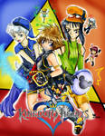 Kingdom Hearts....3k? colored