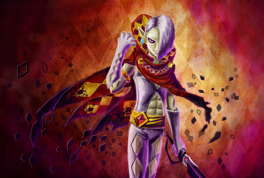Lord Ghirahim by Whitestar1802