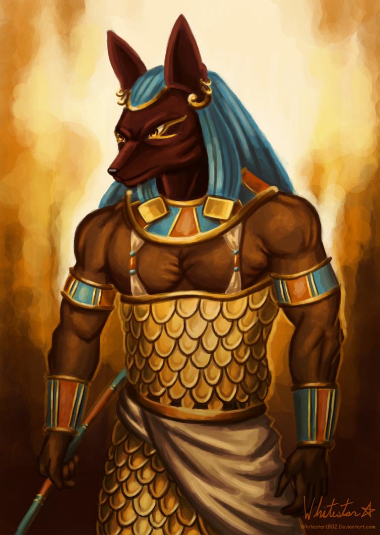 Anubis by Whitestar1802 on DeviantArt