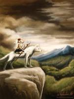Mononoke Hime by Whitestar1802