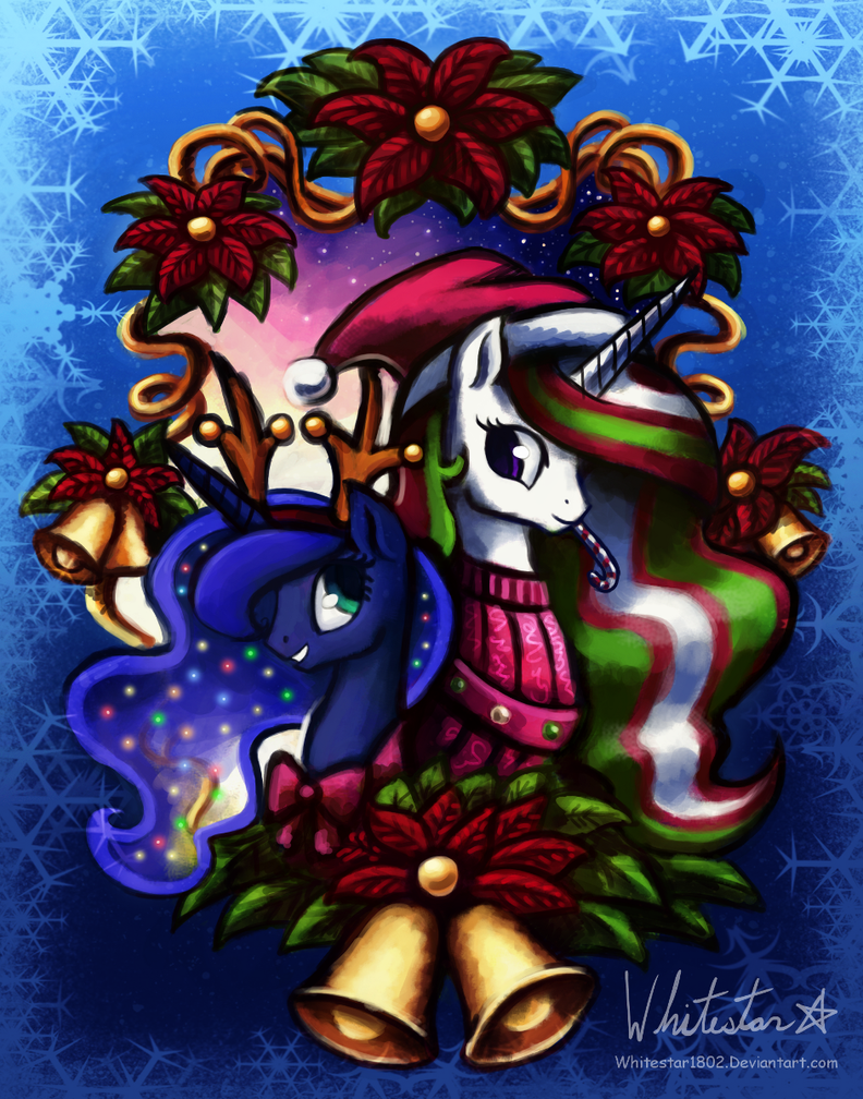 Royal Canterlot Christmas by Whitestar1802