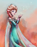 Elsa by Whitestar1802