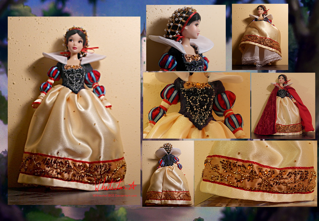 OOAK Historical Snow White doll - For Sale by Whitestar1802