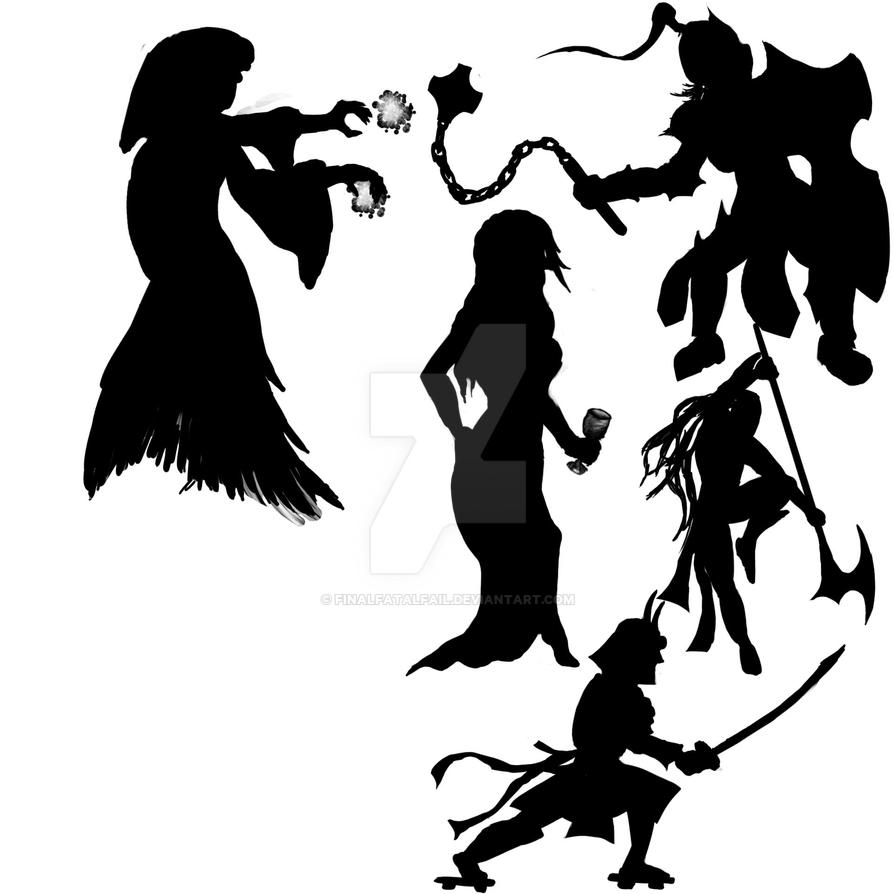 Silhouettes6-10 by FinalFatalFail