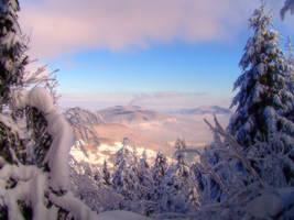 Mountain Landscape by Blatio