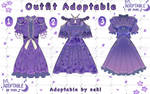 [Open]  Adoptable Outfit batch