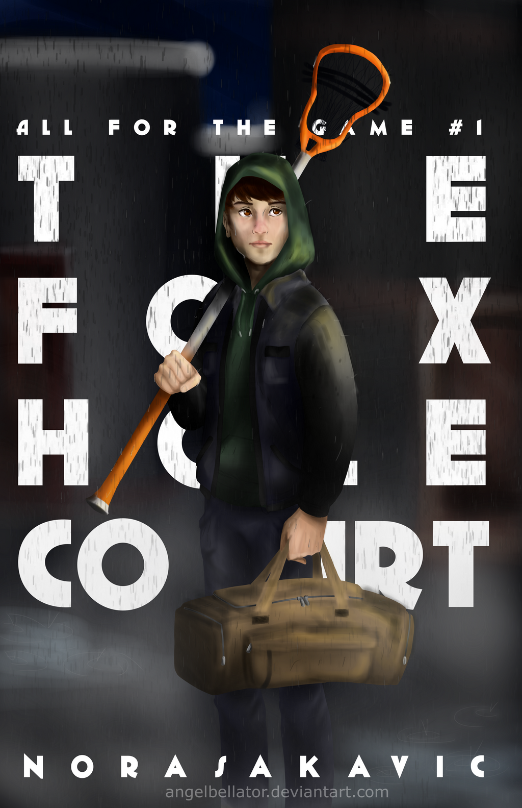 The Foxhole Court cover design by AngelBellator