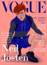 Neil Josten Vogue cover