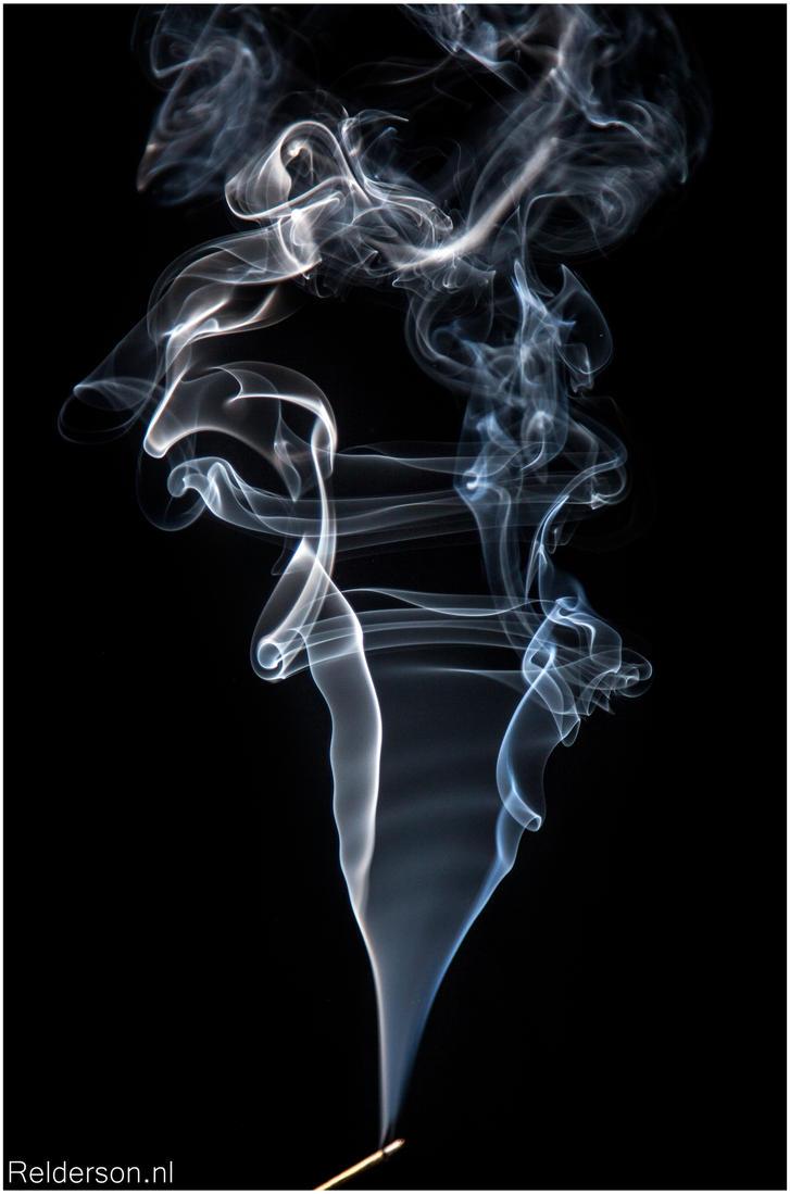 Incense Smoke. by Relderson