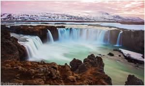 Gooafoss Waterfall Iceland
