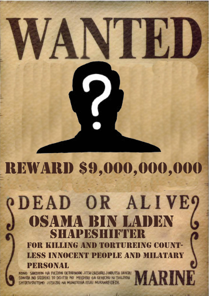 Bin Laden Wanted Poster By Lordmirokuzenco On Deviantart