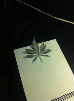 3D WEED LEAF