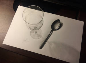 3D CUP | SPOON DRAWING