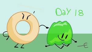 BFB MONTH 18: Gelatin and Donut