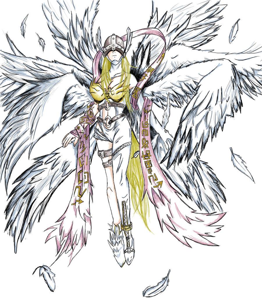 Angewomon Evolution | www.imgkid.com - The Image Kid Has It!: http://imgkid.com/angewomon-evolution.shtml