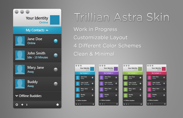 Trillian Astra WIP