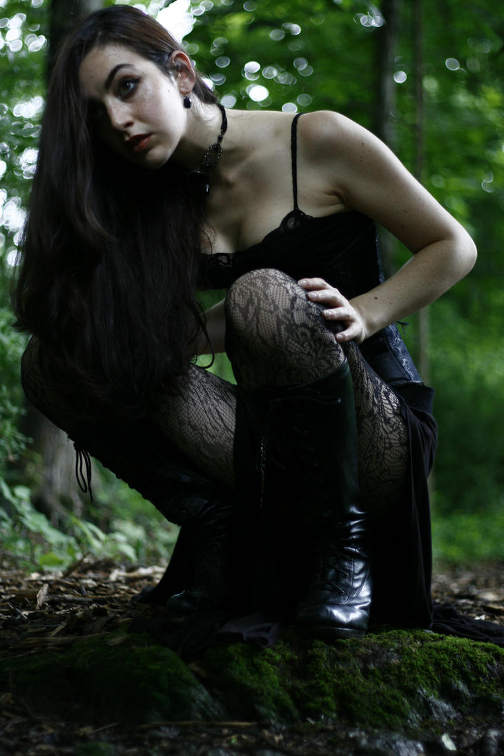 STOCK - Born from Darkness - Crouch II by TheGhostSiren
