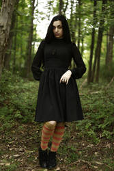 STOCK - Pumpkin Spice Witch