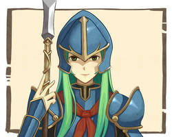 I draw Nephenee Radiant Dawn [fanArt] by dakkalot