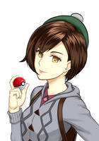 Pokemon Sword and Shield - Female Trainer [fanArt] by dakkalot