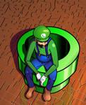 Pensive Luigi