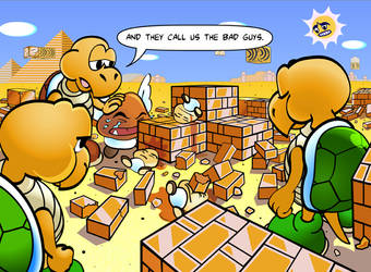 Mario's aftermath by SilentKV
