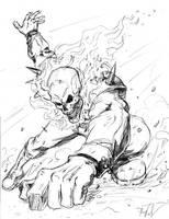 Ghost Rider by SilentKV