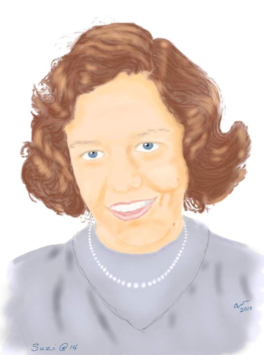 Suzi at 14 - my drawing by shaharw