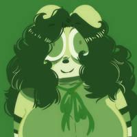 Green Envy by Honyu-Art