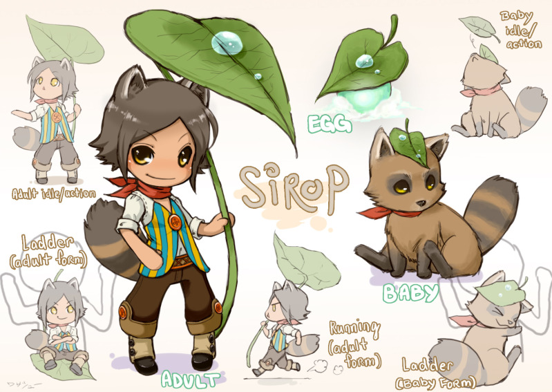 Raccoon Boy Sirop By Wasashu On DeviantArt