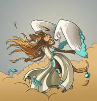 Shaman Goddess by regiph