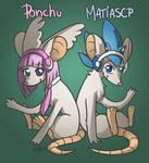 Matias e Ponchu