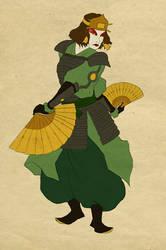 Woodblock Suki by 626elemental