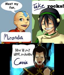 Avatar badges by 626elemental