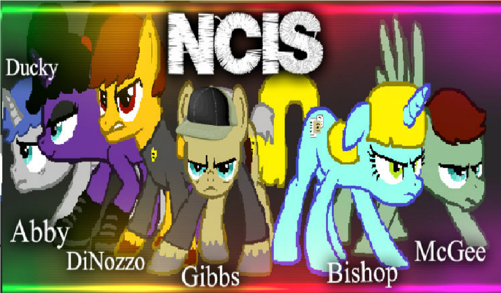 ncis mlp version my little pony ncis by mlpchannelglory99 on