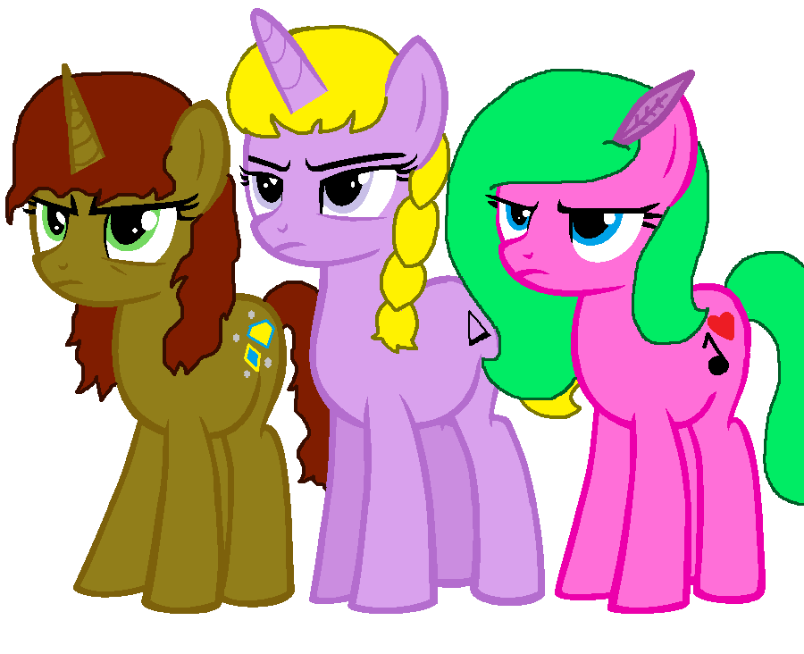 my little pony heroes of the olympus girls by mlpchannelglory99 on