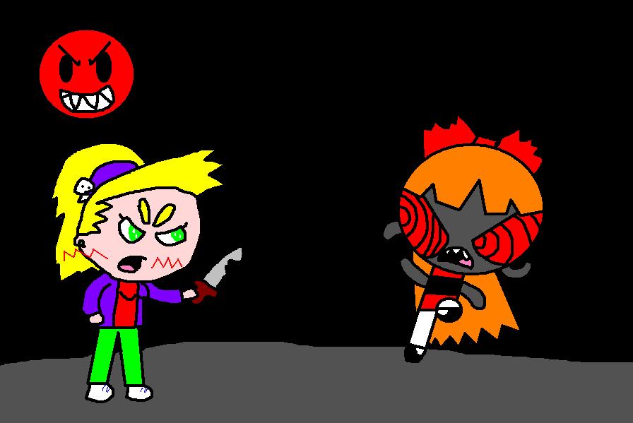 Saka vs Imposter by powerpuffDeniz