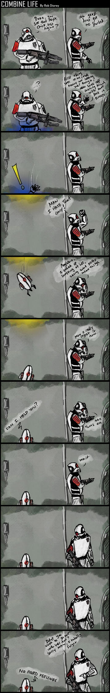 Half Life Comic by Silverhertz