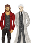Collab: Fancy man by LisieZabawy
