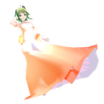 MMD Gumi Dress