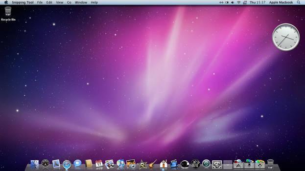 Mac OSX Desktop Preview