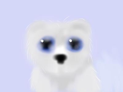 The polar bear by lunacrow14
