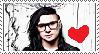 Skrillex Stamp by MaleforFangirl
